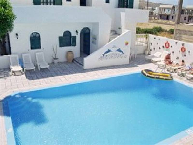 Appartementen Anemos - Perissa - Santorini